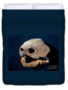 Alligator Snapping Turtle Duvet Cover