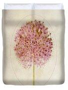 Allium Pink Jewel Duvet Cover