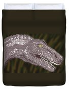 Allosaurus Duvet Cover