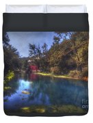 Ally Springs Mill  The Fall Duvet Cover