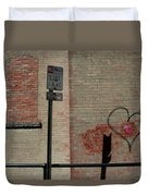 Allyway Theater Duvet Cover