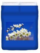 Almond Blossom Duvet Cover by Carlos Caetano