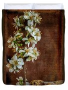 Almond Blossom Duvet Cover by Marco Oliveira