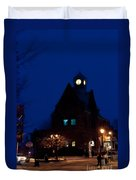 Almonte Ontario At Night Duvet Cover