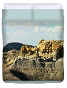 Almost Moonscape Duvet Cover