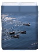 Almost Synchronized Swimming  Duvet Cover