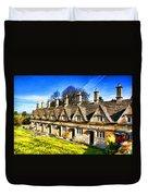 Almshouses Duvet Cover