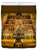 Almudena Cathedral Duvet Cover