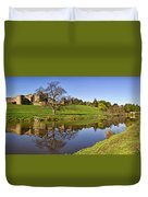 Alnwick Castle Panorama Duvet Cover