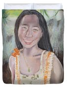 Aloha Jade Duvet Cover