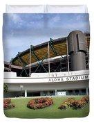 Aloha Stadium Duvet Cover