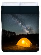 Alone Under The Stars Duvet Cover