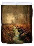 Along The Canal Duvet Cover