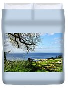 Along The Coastal Path - Lyme Regis Duvet Cover
