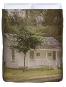 Along The Country Road Duvet Cover
