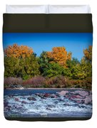 Along The Creek Duvet Cover