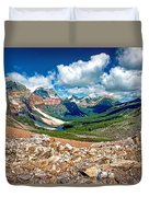 Along The Great Divide Duvet Cover