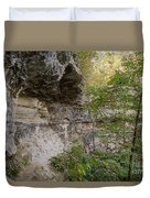 Along The Grotto Duvet Cover