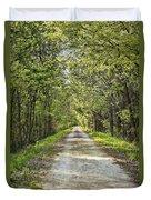 Along The Katy Trail Duvet Cover