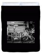 Along The Road Of Life Duvet Cover