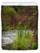 Along The Stream Duvet Cover