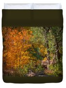 Along The Trail Duvet Cover