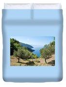 Alonissos Island Duvet Cover