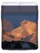 Alpen Glow Duvet Cover
