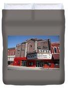 Alpena Michigan - State Theater Duvet Cover