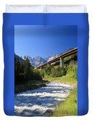 Alpine Highway Duvet Cover