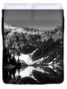 Alpine Lake August 1975 #1 Duvet Cover