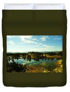 Alpine Lake Off The Beartooth Highway Duvet Cover