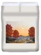 Alpine Meadow II Duvet Cover
