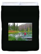 Alpine Pond On Alpine Pond Trail In Cedar Breaks National Monument-utah Duvet Cover