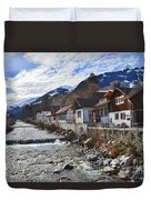 Alps Vicinity Duvet Cover