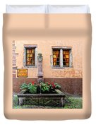 Alsace Fountain Duvet Cover