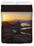 Alstrom Point Sunrise  Duvet Cover