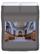 Alter At St Martins Cathedral Duvet Cover