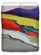 Altered Landscape Duvet Cover