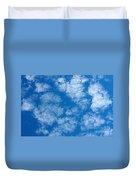 Altocumulus Cloud. Duvet Cover