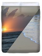 Always The Sun - Reunion Island - Indian Ocean Duvet Cover by Francoise Leandre