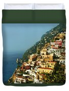 Amalfi Coast Hillside II Duvet Cover