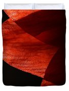 Amaryllis Abstract Duvet Cover