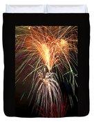 Amazing Fireworks Duvet Cover