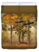 Amazing Grace Duvet Cover by Debra and Dave Vanderlaan