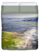 Amazing Iceland Landscape Duvet Cover