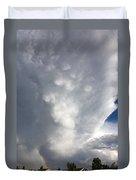 Amazing Storm Clouds Duvet Cover