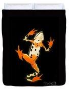 Amazon Harlequin Toad Duvet Cover