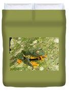 Amazon Leaf Frog Duvet Cover