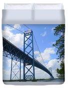 Ambassador Bridge Duvet Cover
